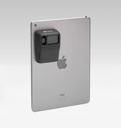 Spike за таблети, монтиран на iPad