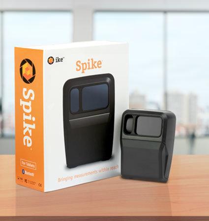 Лазерно устройство за измерване на обекти Spike за таблети