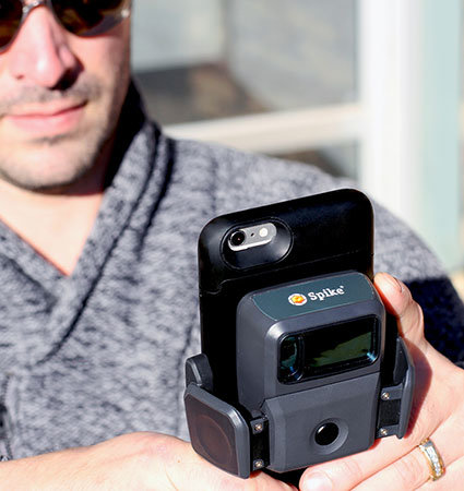 Измерване със Spike за смартфони
