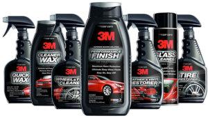 Използвайте професионална козметика за автомобили на 3M
