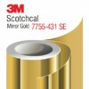3M Scotchcal Mirror Gold Film 7755-431-SE
