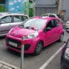 Цялостно облепяне на автомобили на Food Panda - M3 Дизайн, Бургас