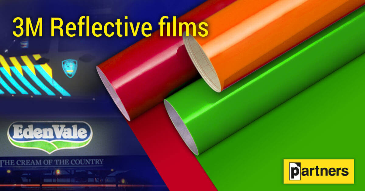 3M Reflective films for application on vehicles, signage and road