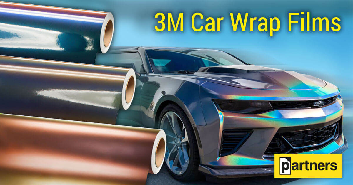 3M Car Wrap Film 1080 - car tuning film for details or full