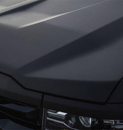 Dead Matte Black - 3M фолио черен мат на преден капак