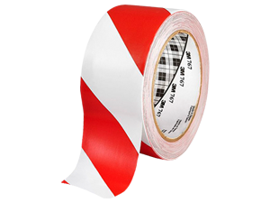 3M Hazard Warning Tape 767 Red/White