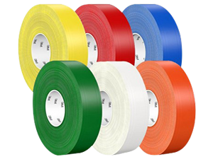 Durable and abrasion resistant floor marking tapes 3M 971