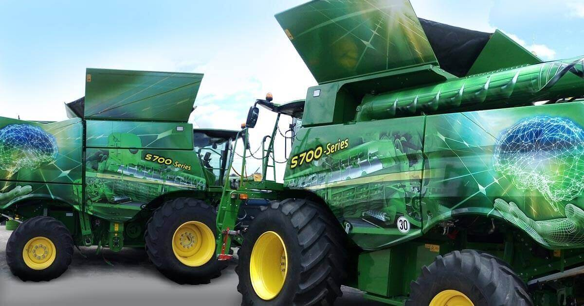 3M film - a way to transform a combine harvester