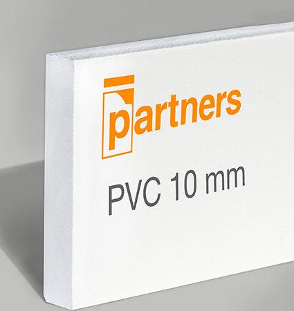 Плоскости пено ПВЦ 10 мм, бяло