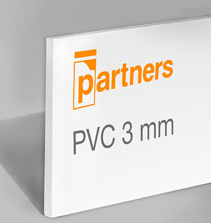 PVC foam sheet 3 mm - Partners Ltd