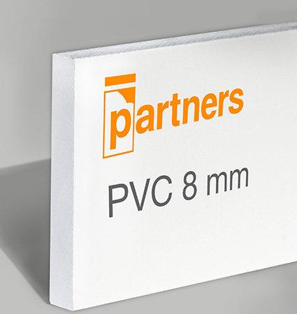 Плоскости разпенено PVC 8мм - бяло