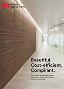 Малка продуктова брошура 3М DI-NOC фолио за интериорни декорации
