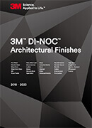 Брощура архитектурно фолио 3M Di-NOC Architectural Finishes 2018-2020