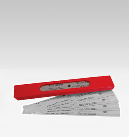 Резервни ножчета за скрапер GT108SS-HD 6″ Triumph Stainless steel blades