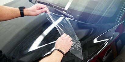 3M 2080-G12 Wrap Film with a clear protection layer