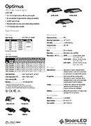 SloanLED-Optimus-LCG-SB-PML - технически спецификации