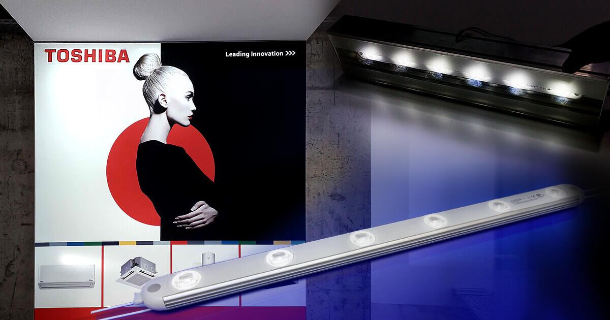 SloanLED модули за яркосветещи и дълготрайни реклами