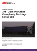 3M Conspicuity Marking Series 983 PDF - Продуктов каталог