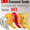 3M™ Diamond Grade™ Conspicuity Markings 983 - retroreflective