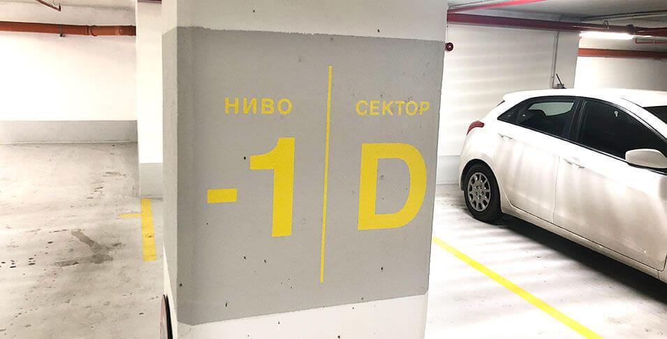 3M Envision LX480Cv3, апликирано на стени в комплекс СИЛА