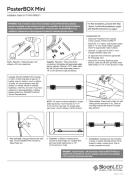 Sloanled PosterBox Mini - ръководство за инсталиране