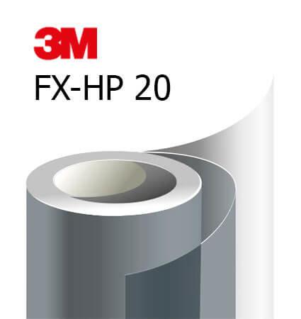 3M FX-HP 20 Automotive Window Film - висок клас фолио за затъмняване на авто стъкла, тъмно