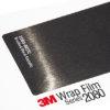 3M 2080 Car Wrap - Brushed Black Metallic - черен дран металик