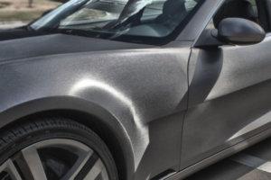 3M 2080 Car Wrap Series - автомобилно фолио за облепване - драскан алуминий