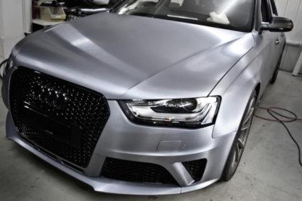 3M 2080 Car Wrap Series - драскан алуминий фолио