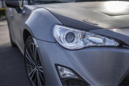 3M 2080 Car Wrap Series - Brushed Steel, steel effect