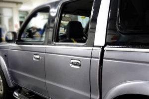 3M 2080 Car Wrap Series - Brushed Steel, фолио с ефект на стомана