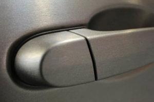 3M 2080 Car Wrap Series - Brushed Titanium, драскан титан, детайл