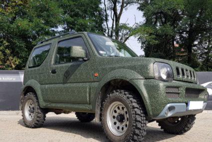3М 2080 автомобилно фолио за облепване, камуфлажно зелено