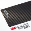 3М 2080 карбоново фолио, черно
