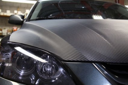 3M 2080 Carbon Fiber Film - фолио за облепяне, черно