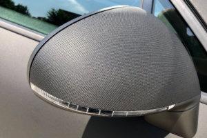 3M Wrap Series 2080 - textured, Black Matrix, mirror