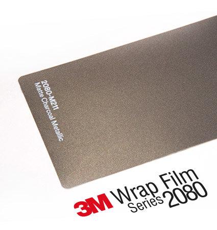 3M 2080-M211 Matte Charcoal Metallic, цвят въглен