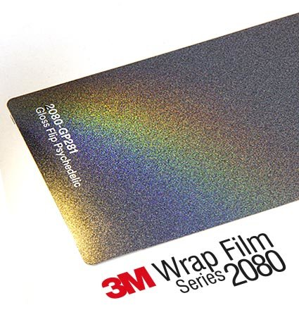 3M 1080-SP281 Satin Flip Psychedelic, хамелеон, гланц