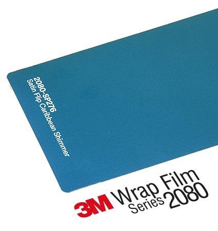 2080-SP276 CARIBBEAN SHIMMER , карибско син цвят, сатен