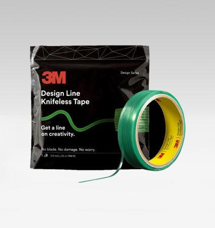 3M Design Line Knifeless Tape - създаване на графики