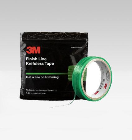 3M Finish Line Knifeless Tape - здрава нишка за многослойно фолио