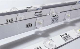 SloanLED BrightLINE - бели къси LED модули за едностранни табели