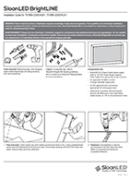 SloanLED Bright Line PDF Install Guide - Ръководство за инсталация