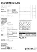 SloanLED Bright Line PDF Spec Data - Технически характеристики