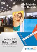 SloanLED Bright Line PDF - Продуктов бюлетин