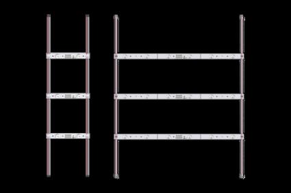 SloanLED BrightLine - за монтаж на гърба на табела, пример (2)