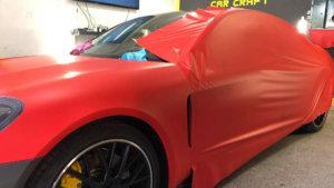 3M 2080 Car Wrap Series M13 червен, мат, облепяне