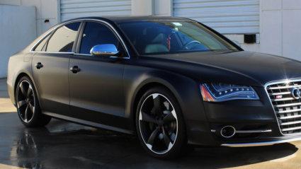 3M 2080 Car Wrap Series S12 - satin black
