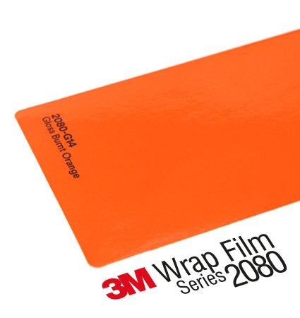3M 2080 Wrap Film Series G14 Burnt orange - тъмно оранжев, гланц