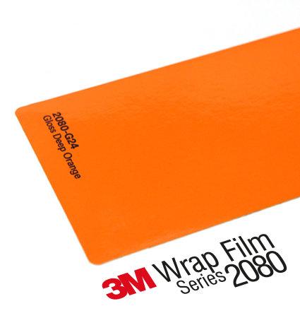 3M 2080 Car Wrap Series G24 - Deep Orange - ярко оранжево